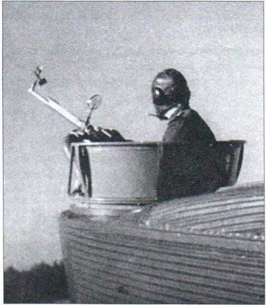 Носовая стрелковая установка с пулемётом ШКАС
