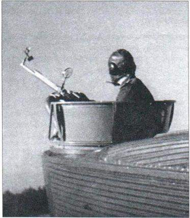 Bow-shooting machine gun ShKAS