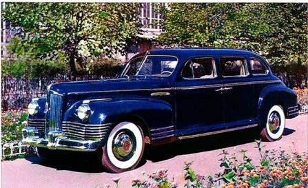 Представительский автомобиль-лимузин ЗиС-110 выпуска 1945 года