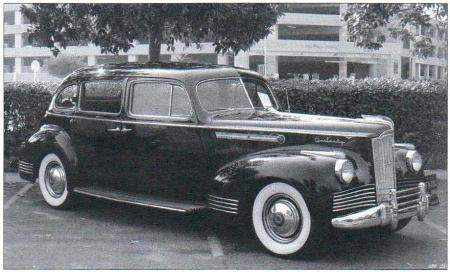 Packard 160 выпуска 1942 года - один из прототипов автомобиля ЗиС-110