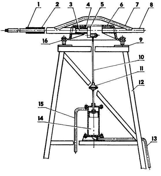 Основной узел ветронасосной установки