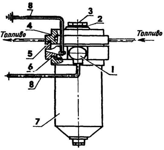 Позисториый подогреватель в топливном баке