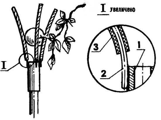 Нехитрая «метла-решето» при уборке урожаи яблок