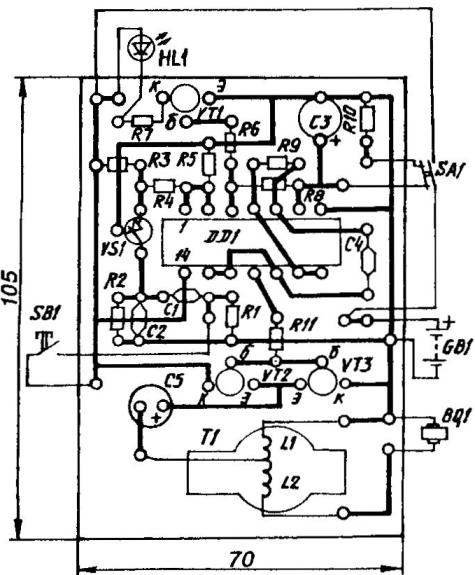 Topology circuit Board