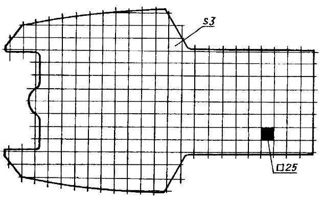 Несущий элемент корпуса (фанера s3)