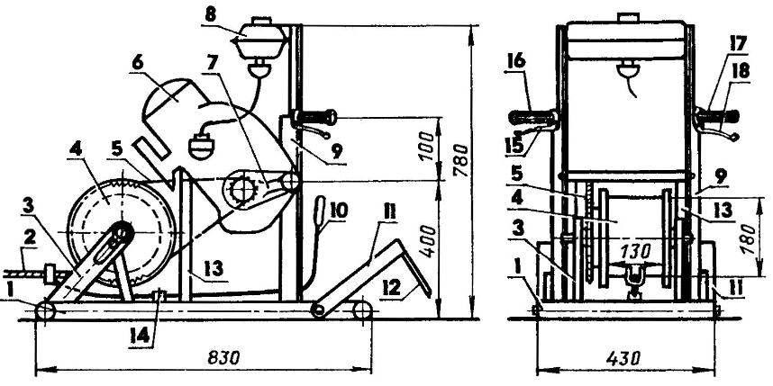 Мотолебедка