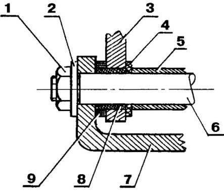 Type design of swivel rocking pendants