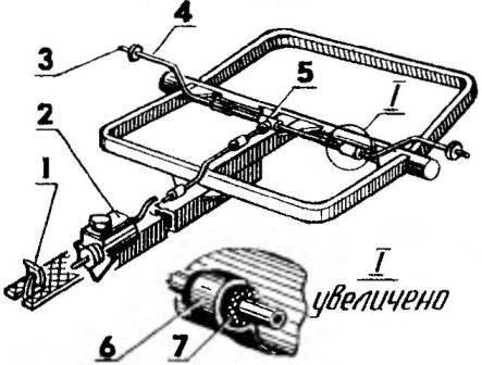 Расположение тормозной педали