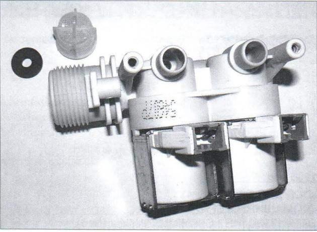 Впускной электромагнитный клапан стиральной машины