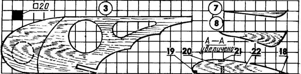 Модель планера для начинающих авиамоделистов2