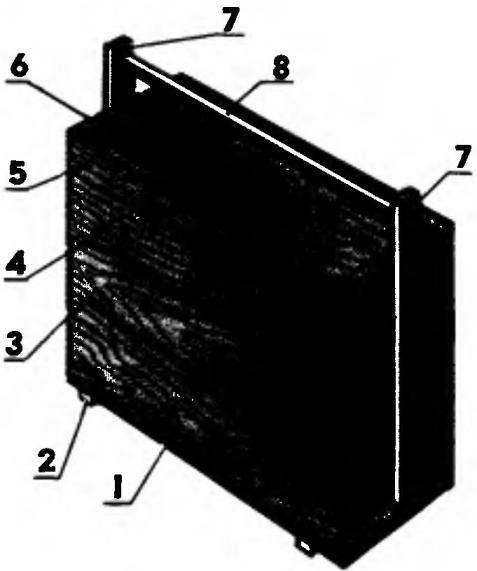 Многоярусный инструментальный ящик