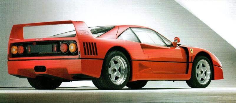 THE LAST CAR ENZO FERRARI
