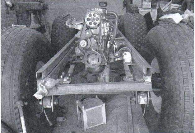 The frame body in the manufacturing process
