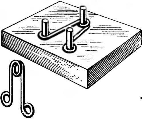 Приспособление для изготовления «булавок»
