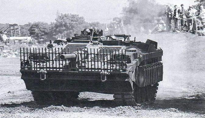 Основной боевой танк Швеции Bofos Strv-103А