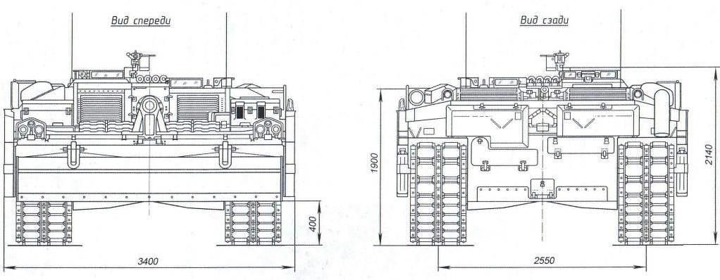 Основной боевой танк Швеции Strv-103С