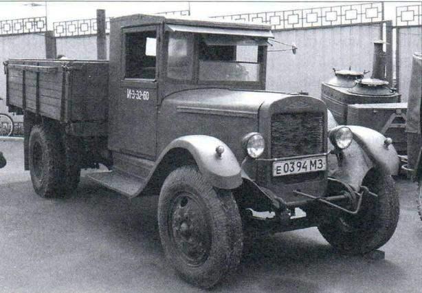 Грузовой автомобиль ЗИС-5 (1933 год