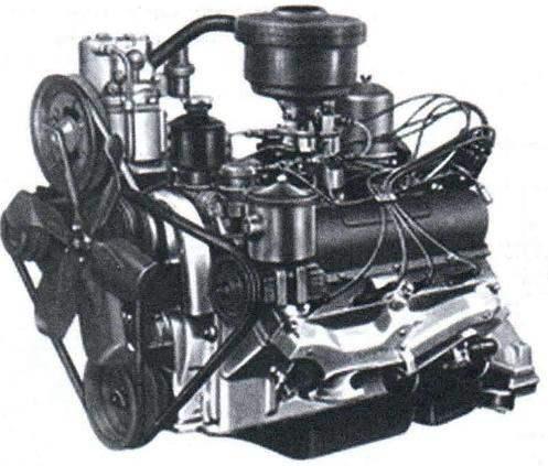 Двигатель автомобиля ЗИЛ-130