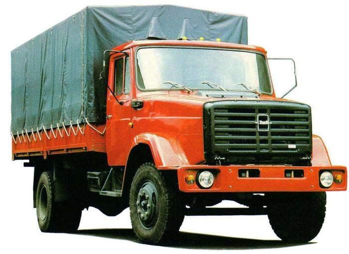 Бортовой грузовик ЗИЛ-4331