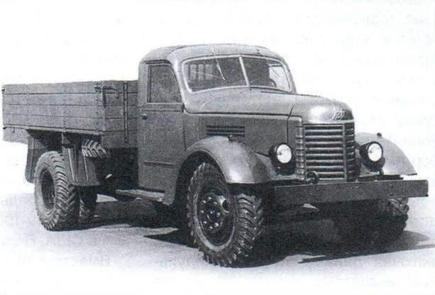 Postwar truck ZIS-150 (1947)