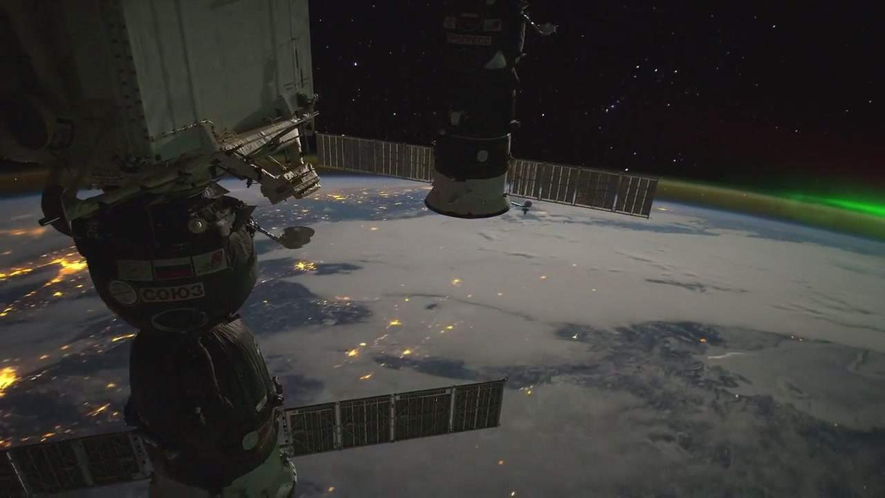 VIEW FROM ISS