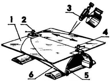 Способ изготовления ветрового козырька