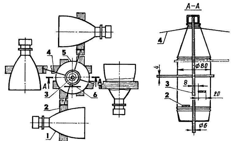 Jerky Scarecrow rotating-propeller