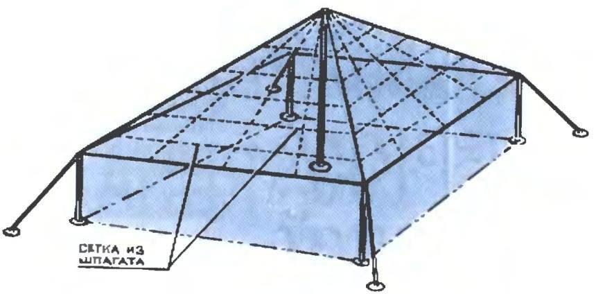 Frame square greenhouse