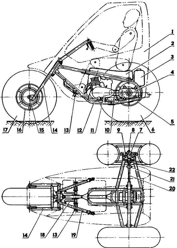 Arrangement of the pneumatic