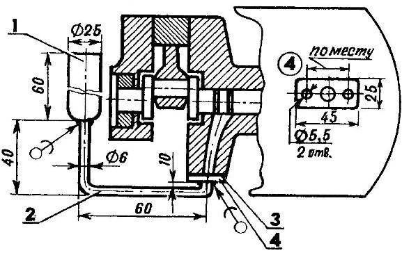 Revision of the lubrication system, krivoshipno-Polzunova mechanism