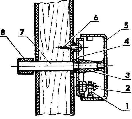 Mechanical doorbell
