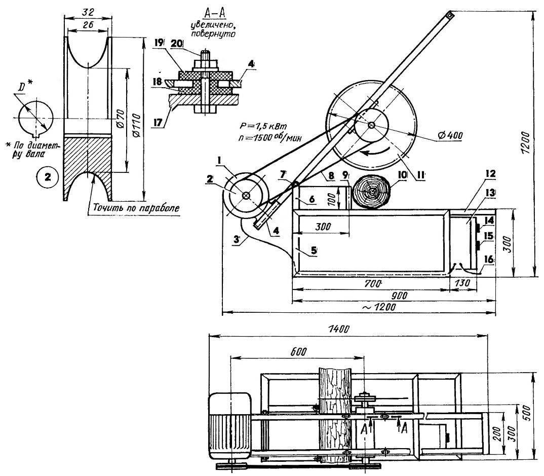 Маятниковая дисковая электропила