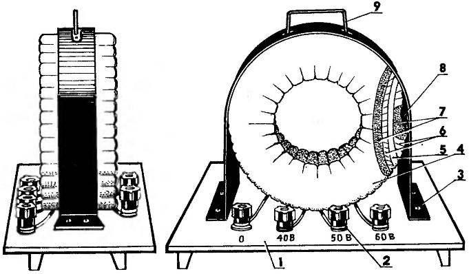 «Сварочннк» из статора неисправного асинхронного электродвигатели
