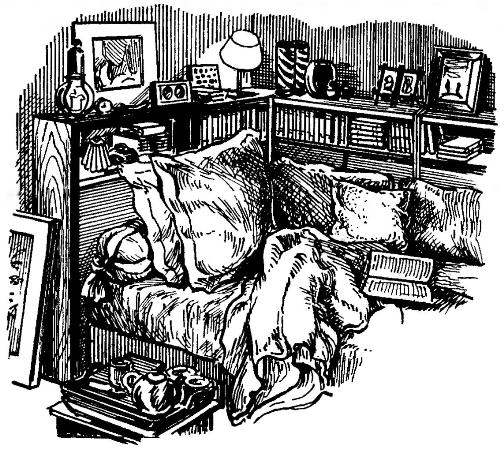 COZY SLEEPING AREA