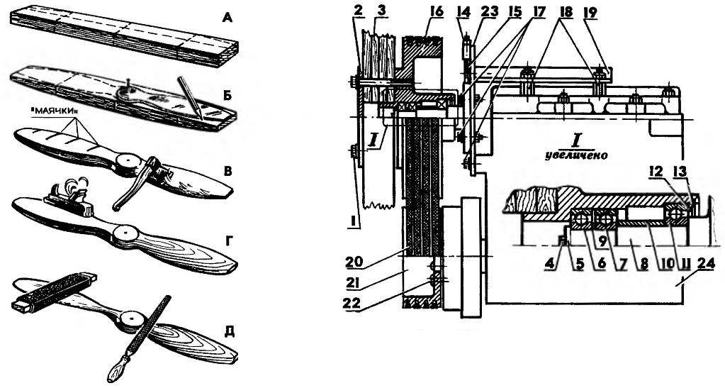 Предварительная обработка воздушного винта