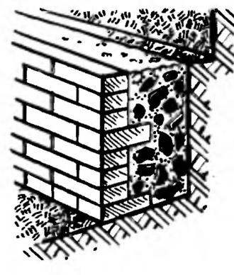 Fig. 3. The foundations to the extension.