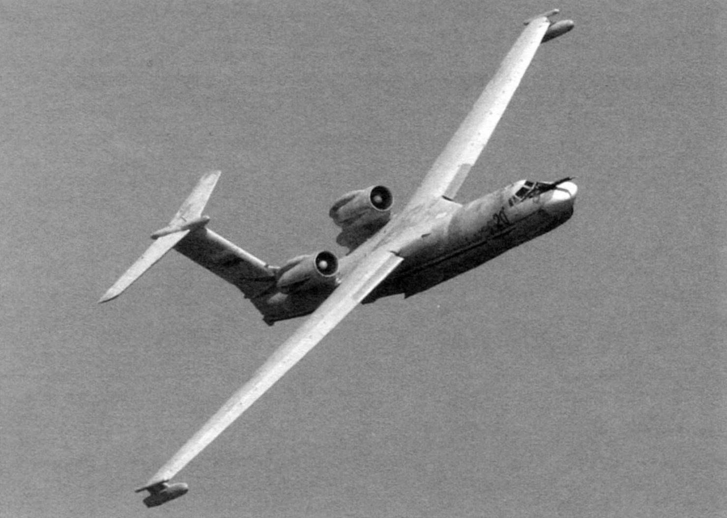 A-40 over the Bay of Gelendzhik