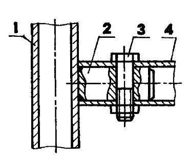 Типовое крепление дуг безопасности
