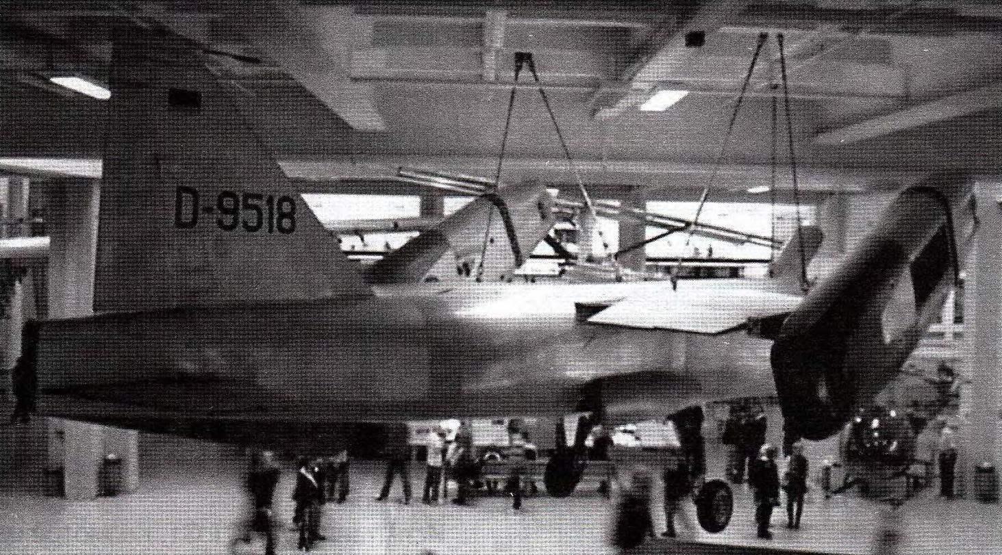 VJ-101 в экспозиции музея в Мюнхене