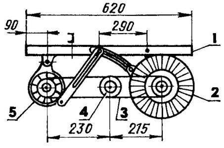 Generator-node vatnshorn