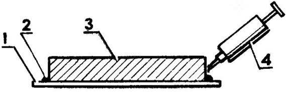Рис. 4. Подклейка кромки