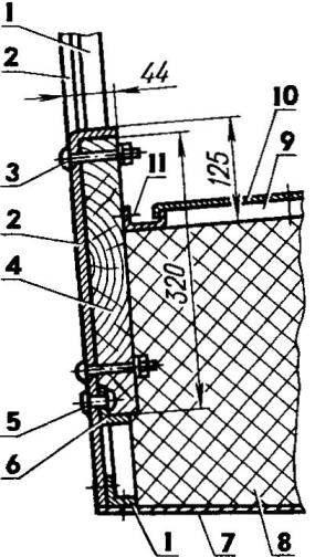 Рис. 8. Оборудование транца