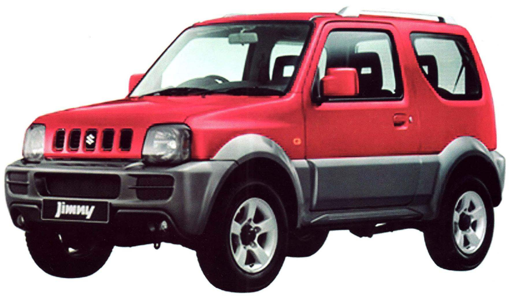 Полноприводной внедорожник Suzuki Jimny