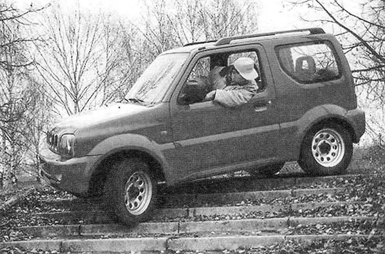 All-wheel-drive Suzuki Jimny SUV