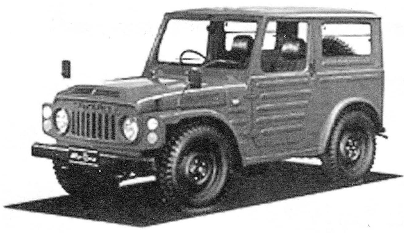 Мини-джип Suzuki Jimny первого поколения