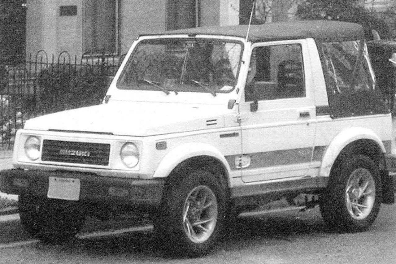 Мини-джип Suzuki Jimny второго поколения