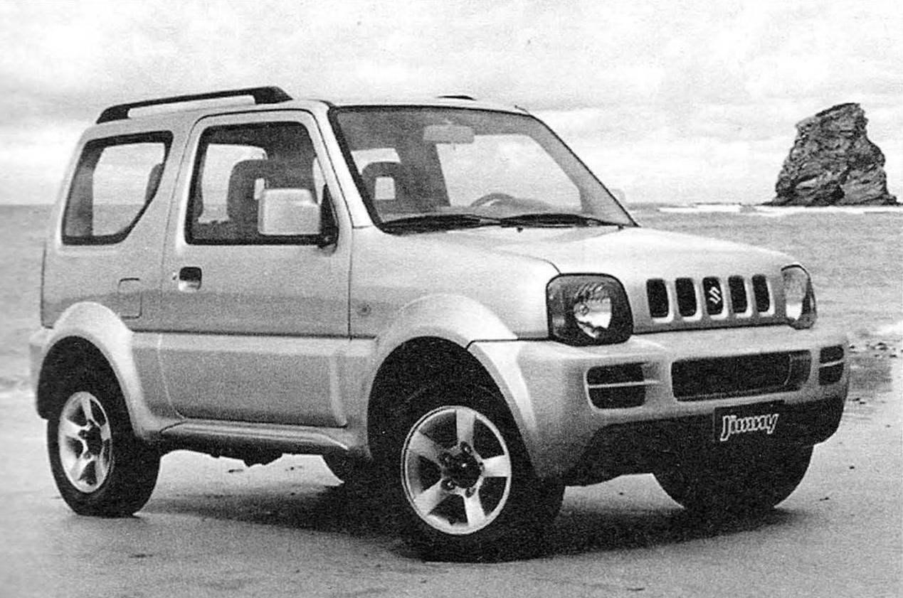 Mini jeep Suzuki Jimny (station wagon)