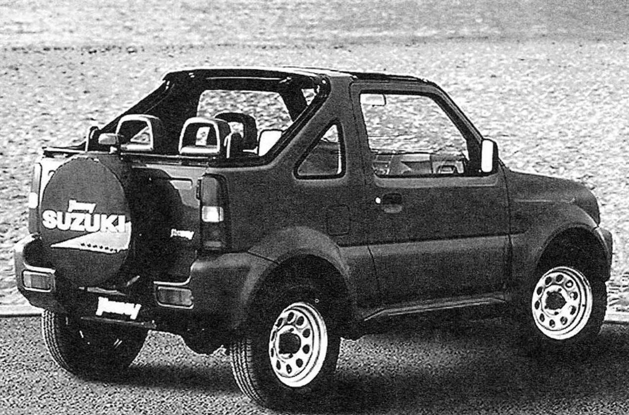 Mini jeep Suzuki Jimny Cabrio (convertible)