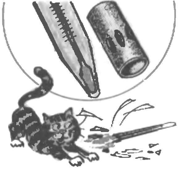 MINI-CASE AT THERMOMETER