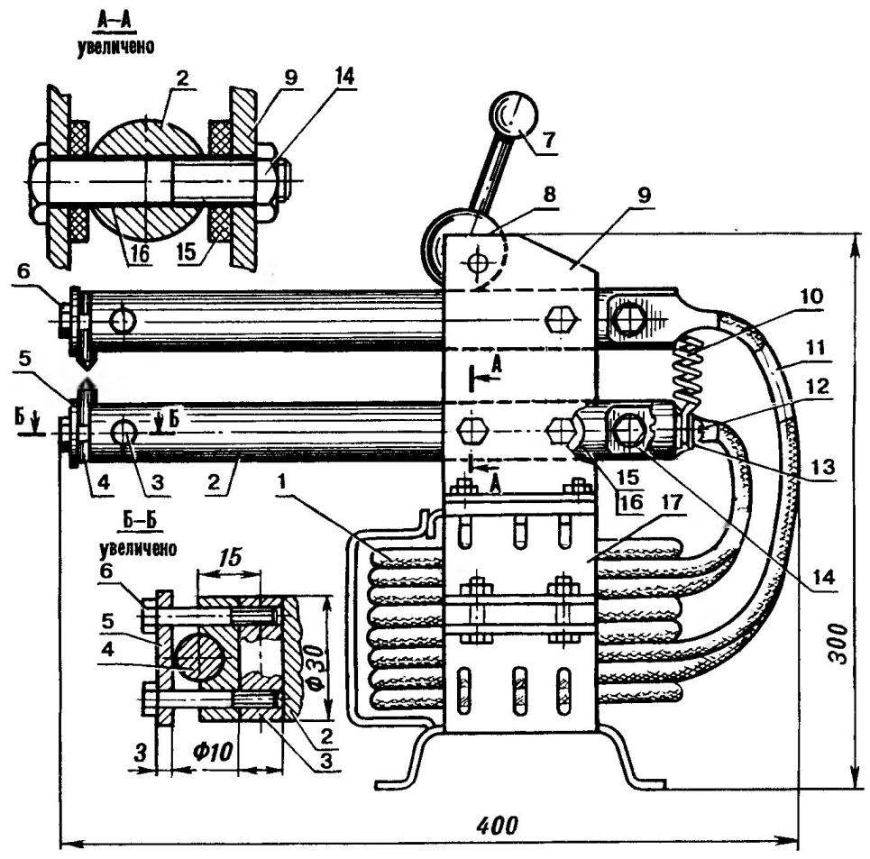 Аппарат для точечной сварки листовой стали